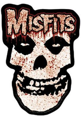 The Misfits Bloody Skull STICKER - Decal Music Band Logo SE380