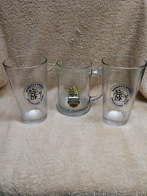 Utica Club Schultz and Dooley Collector's Club Edition MUG and glasses