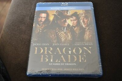 Dragon Blade blu ray + DVD 2016 Region A English & French audio
