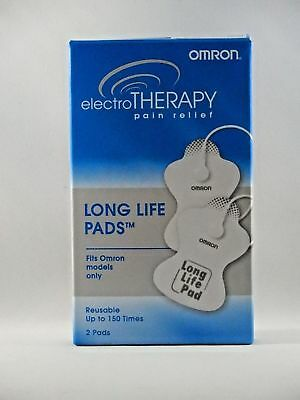 Brand new OMRON ElectroTHERAPY Long Life Pads For Omron EXP 1/11/20 2 pads a box