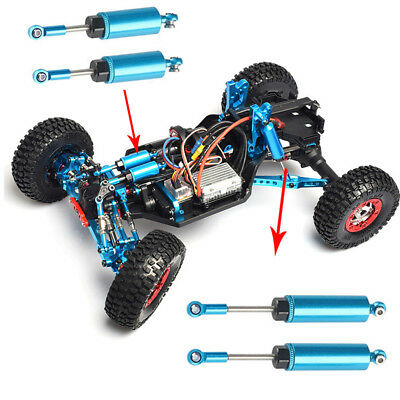 Fit For Wltoys 12428 12423 1/12 RC Car WLtoys Upgrade Metal Shock Absorbers Blue