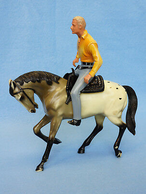 Hartland Rare set: The Rebel, Johnny Yuma w/ Appaloosa Prancer