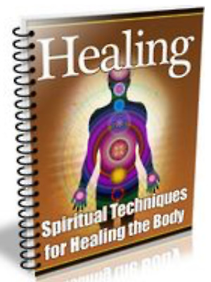Spiritual Techniques for Healing the Body Master Resell Rights MRR pdf ebook