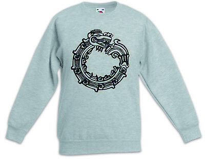AZTEC OUROBOROS Kids Boys Girls Pullover Indians Indian Sign Mayans Religion