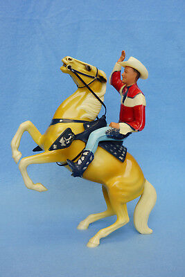 Hartland Roy Rogers with Hat and Rearing Palomino, Trigger