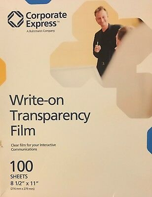 Corporate Express Write-On Transparency Film