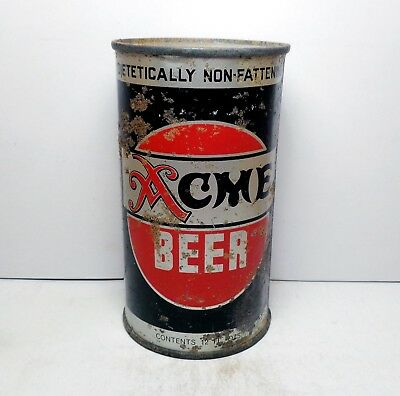 ACME IRTP Flat Top Beer Can Acme Breweries San Francisco, CA Non-Fattening
