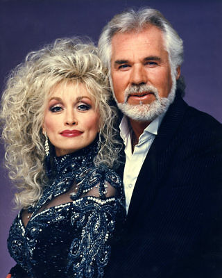 Kenny Rogers Dolly Parton 8x10 Glossy Photo Print #KRDP1