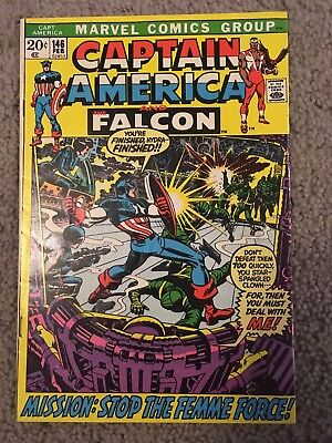 Captain America 146 Marvel More Listings Combine Shipping!!
