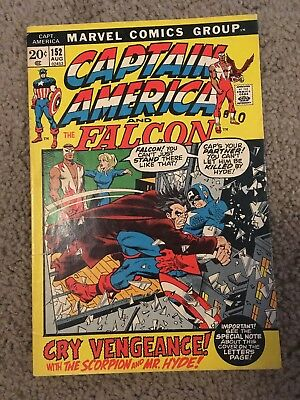 Captain America 152 Marvel More Listings Combine Shipping!!