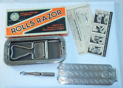 Antique Rolls Razor Kit Imperial No.2 Made In England Complete in Box