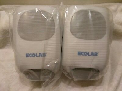 ECOLAB NG Manual Hand Hygiene Dispenser 9202-2952 ( Lot of 2)