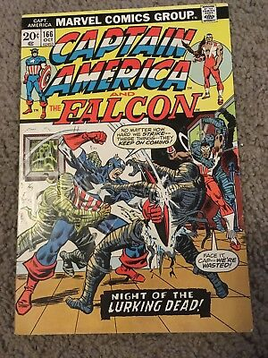Captain America 166 Marvel More Listings Combine Shipping!!