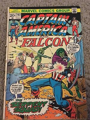 Captain America 163 Marvel More Listings Combine Shipping!!
