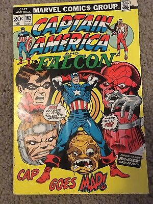 Captain America 162 Marvel More Listings Combine Shipping!!