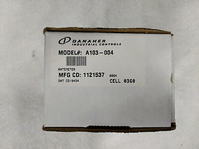 New DANAHER DYNAPAR A103-004 PROGRAMMABLE RATE METER old stock