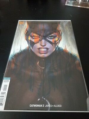 Catwoman #2 Stanley Lau Artgerm Variant Cover Dc Comic Book New 1 2018