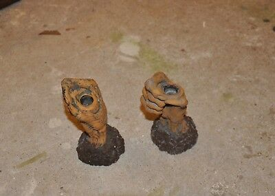 Halloween Candle Holders Ceramic Zombie Hand Candle Holders