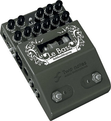 Two Notes Le Preamp - Le Bass - Dual Channel Preamp