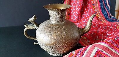 Old Northern India / Tibetan Bronze / Brass Wine Ewer …beautiful collection piec