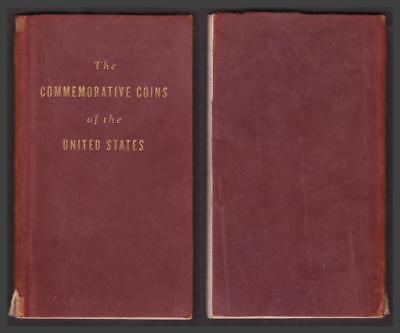 THE COMMEMORATIVE COINS OF THE UNITED STATES by B. MAX MEHL 1937 LEATHER - CBAS