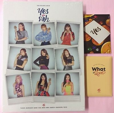 Twice - Yes Or Yes B Ver. CD+Photobook+Photocard+Free Order Benefit+Gift 9Card