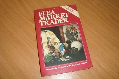 Flea Market Trader - 1983 price guide -paperback by Collector Books Rxc. cond