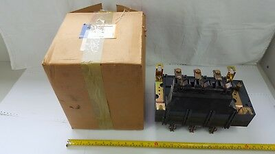 Siemens 3KM41-30-1AB0 Switch Disconnector with Fuse 600VAC 400A 260HP 3ph - New