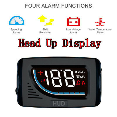 Auto HUD Head Up Display A101 OBDII Overspeed Warning Alarm System Projecto G5P8