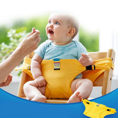 Baby Portable Feeding Seat Belt Baby High Chair Safety Belt Trolley Strap Covers