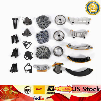 Timing Chain Kit Fits For 07-15 Buick Cadillac Chevrolet Saturn 3.6L DOHC N36A