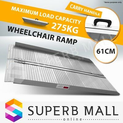 275KG 2FT Wheelchair Ramp Access Folding Loading Aluminium Mobility Scooter Van