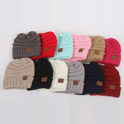 European and American fashion children's hat wool knit hat baby hooded warm hat