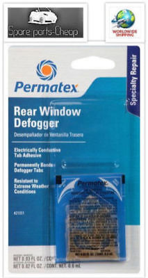 PERMATEX electrically conductive Tab Adhesive 21351 repair window defogger
