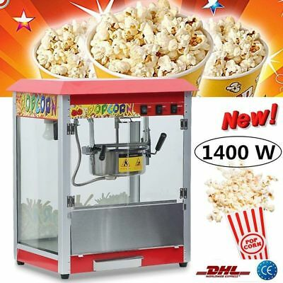 Professionnelle 1400W Popcorn Maker Hôtellerie Machine à Pop corn Machines à pop