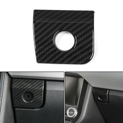 1x Interior Co-pilot Storage Box Handle Cover Trim For Ford Mustang 2015-2018 BU