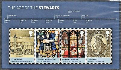 Age of the Stewart's SG MS3053 23 Mar 2010 MNH GB A2599