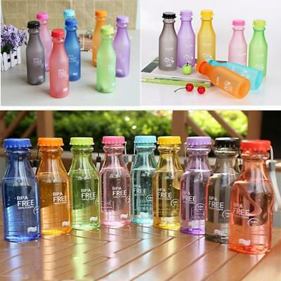 Portable Leak-proof Water Bottle Unbreakable Sports Outdoor Running Camping ONE