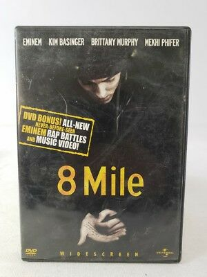 8 Mile Widescreen Edition DVD