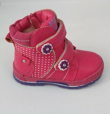 BABY GIRLS Child Winter Thick Warm Shoes Snow Boots, Winter Size UK 5.5-9 NEW
