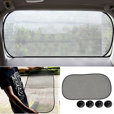 Car Use Rear Window Screen Sunshade Mesh Sun Shade Cover Car UV Protect Tools