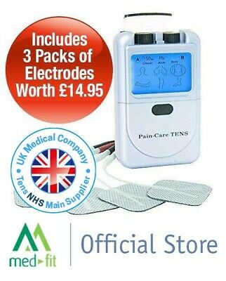 PainCare Digital Dual Channel Tens Machine for Accurate Effective Pain Relief
