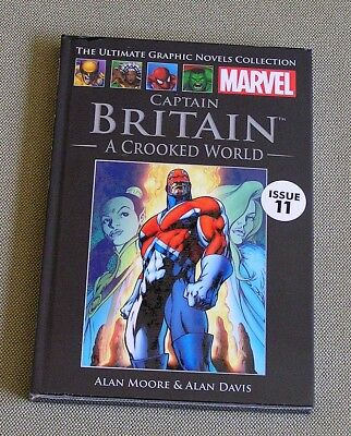Captain Britain - A Crooked World by Alan Moore; Marvel Graphic Novel; New
