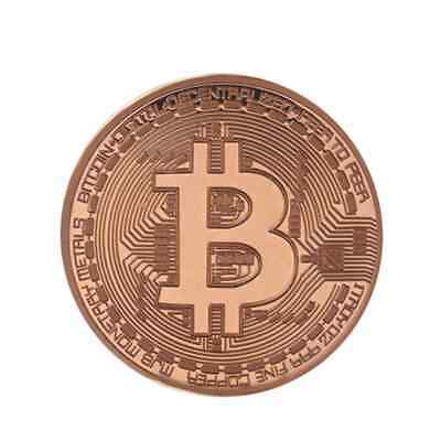BALDR Gold Plated Coin Collectible BitCoin Art Collection Gift Physical