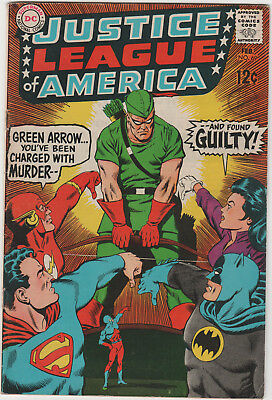Justice League Of America # 69   Fn+  Silver Age Dc