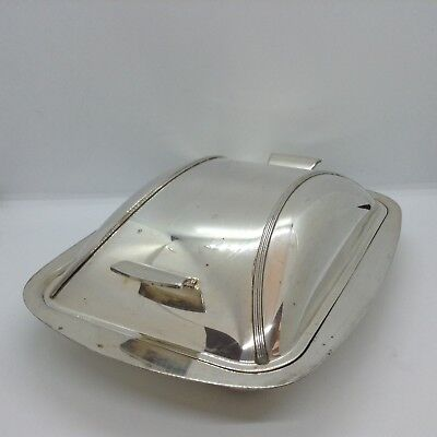 Vintage Silver Plated Art Deco Vegetable Tureen