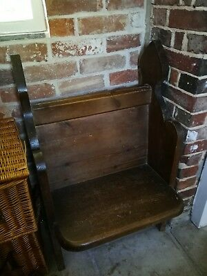 Genuine Reclaimed Victorian Church Pew