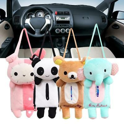 Lovely Car Home Rectangle Tissue Box Cover Holder Paper Box Bathroom Storage