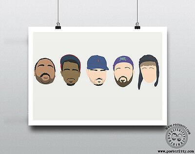 PEOPLE JUST DO NOTHING  - Minimalist Comedy Poster Wall art Posteritty Kurupt FM