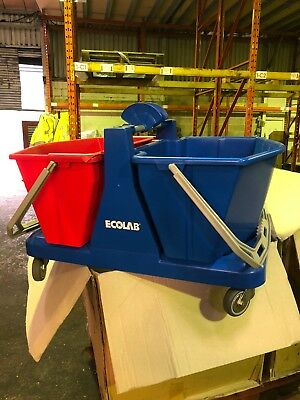 32l Flat Mop Bucket  Ecolab Cleaning Janitorial
